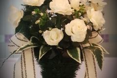 Корзины из искусственных цветов